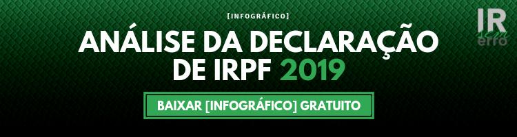 Análise da Declaração de IRPF 2019 - banner de divulgação
