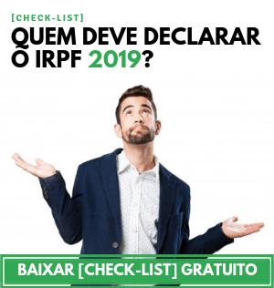quem deve declarar o irpf 2019
